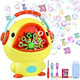 iYoYo Bubble Machine Duck Bubble Blower with Music Sounds, 10.6' x 8.6' Bigger Size Automatic Bubble Maker Bubble Toys for Kids, Toddlers, Boys, Girls