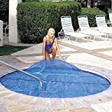 In The Swim 10 x 10 Foot Spa and Hot Tub Solar Blanket Cover 15 Mil