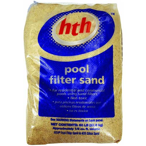 2. HTH 67074 Filter Sand Care for Swimming Pools, 50 lbs