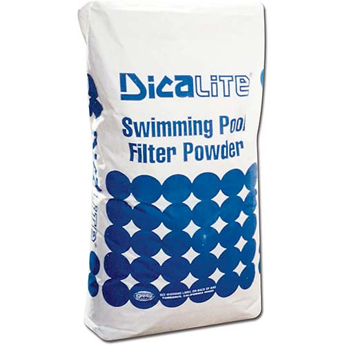 7. Dicalite Minerals DicaLite-50A DicaLite-50B Diatomaceous Earth Pool Filter 50 lbs, White