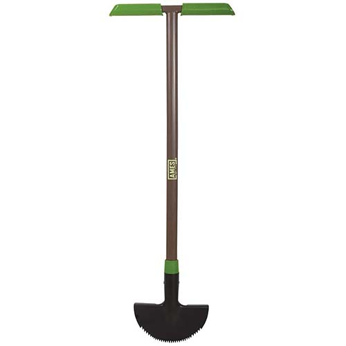 2. AMES 2917200 Saw-Tooth Border Edger with T-Grip, 39-Inch
