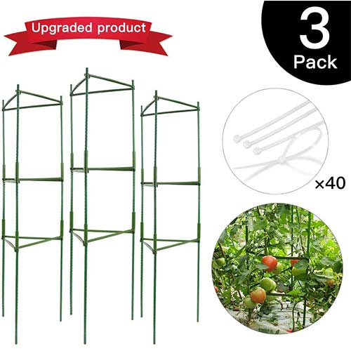 Top 10 Best Tomato Cages For Raised Beds in 2021 Reviews