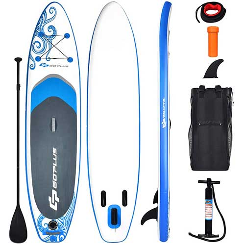 9. Goplus Inflatable Stand Up Paddle Board