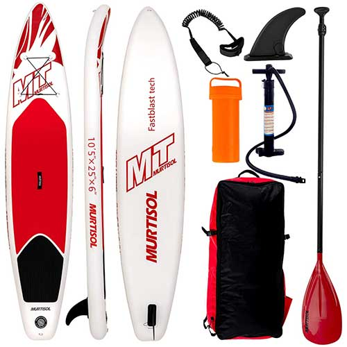 4. Murtisol 10'5'' Inflatable Stand Up Paddle Board