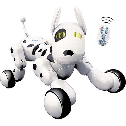 3. Dimple Interactive Robot Puppy With Wireless Remote Control RC Animal Dog Toy