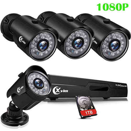 Top 10 Best Outdoor Security Camera Systems with DVR in 2021 Reviews