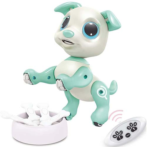 7. BIRANCO. RC Dog, Electronic Pets - Remote Control, Gesture Control, STEM Programmable Actions