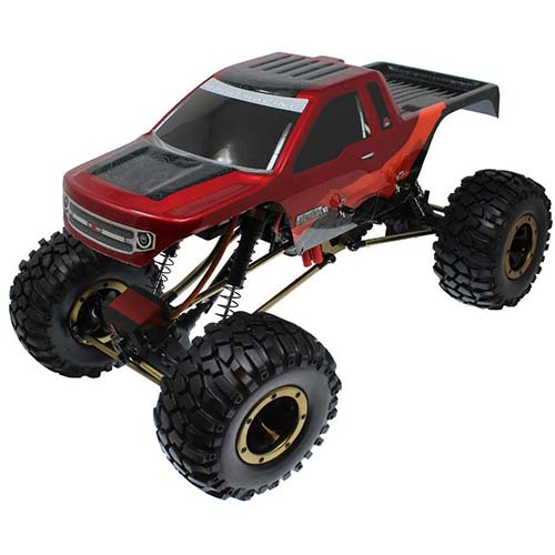 3. Redcat Racing Everest-10 Electric Rock Crawler with Waterproof Electronics, 2.4Ghz Radio Control (1/10 Scale)