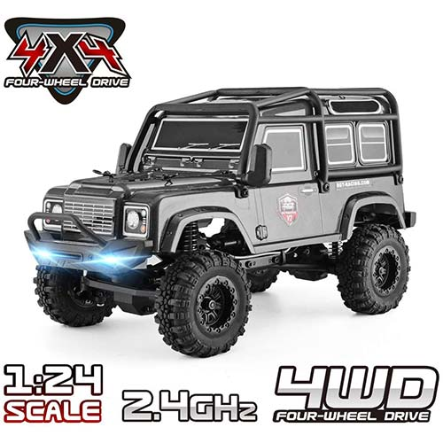 8. RGT RC Crawler 1:24 Scale 4WD Off Road RC Car Mini Monster Truck Hobby Crawler