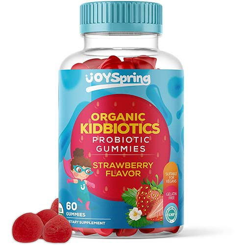 7. Kids Probiotic Gummies - Daily Chewable Probiotics for Children - Great for Digestion & Immune Support Kids