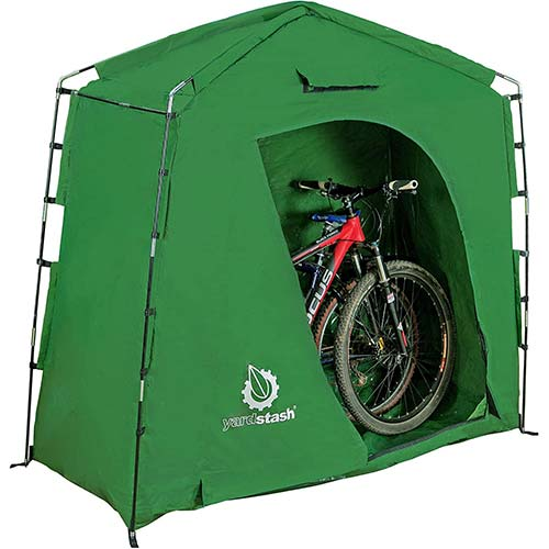 2. The YardStash IV: Heavy Duty, Space Saving Outdoor Storage Shed Tent