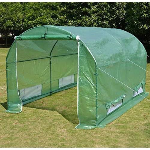 7. BenefitUSA Replacement 10'x7'x6' (Frame Does Not Included) Green House Cover