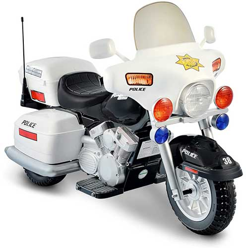 Best Electric Motorcycles for Kids 1. 12V Police Motorcycle