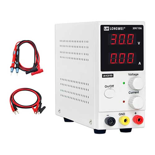 6. DC Power Supply Variable,0-30 V / 0-10 A LW-K3010D Adjustable Switching Regulated Power Supply Digital