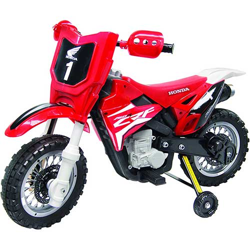 Best Electric Motorcycles for Kids 3. Best Ride On Cars Honda CRF250R Dirt Bike 6V Red