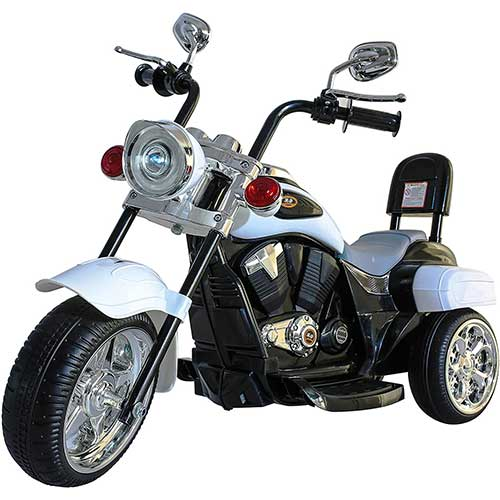 Best Electric Motorcycles for Kids 7. DTI DIRECT Chopper Style Electric Ride ON Motorcycle for Kids - 6V Battery Powered 3 Wheel Ride ON Toy