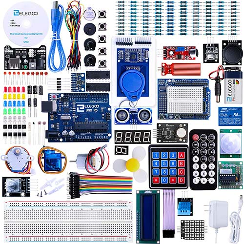 6. ELEGOO UNO R3 Project Most Complete Starter Kit w/Tutorial Compatible with Arduino IDE