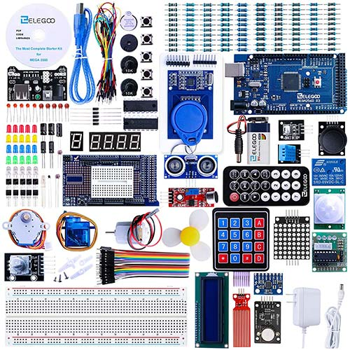 3. ELEGOO Mega 2560 Project the Most Complete Ultimate Starter Kit w/ TUTORIAL Compatible with Arduino IDE
