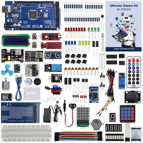 9. UCTRONICS Ultimate Starter Kit for Arduino with Instruction Booklet